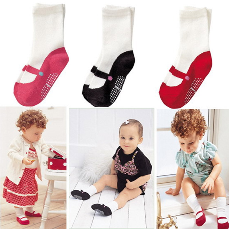winter autumn baby girls ankle socks kids anti-slip robber sole non-slip short socks for children new born baby girl clothes girl