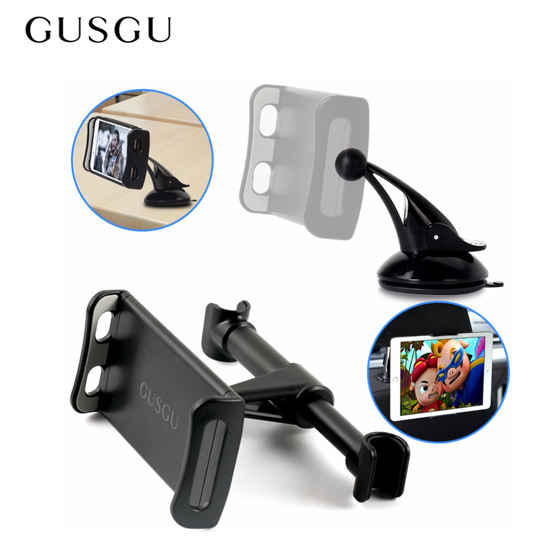 Car Back Seat Car Phone Holder Headrest Bracket Car Tablet Phone Stand Holder for iPhone iPad Mini Stands Tablets|Phone Holders & Stands| |  - title=