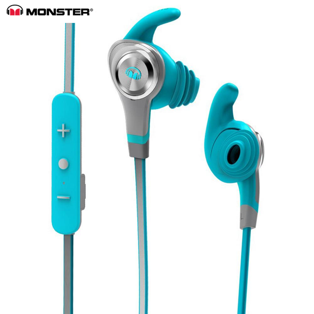 MONSTER ISport Intensity Headphone <font><b>Tws</b></font> Sweatproof Wireless Bluetooth i7s <font><b>original</b></font> Earphone Stereo Hand-free Earbud Headphones image