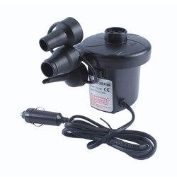 3800Pa bomba de aire eléctrica 380L/min para colchón de aire inflable bote inflable Hovercraft juguete inflador 12V CC