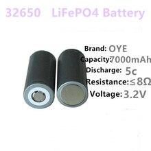 2 шт./пое 32650 3,2 В 7000 мАч lifepo4 аккумуляторная батарея LiFePO4 5C разряда батареи для резервного копирования Мощность фонарик