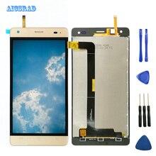 AICSRAD Cubot Echo Için LCD Cep telefon LCD ekranı + dokunmatik ekranlı sayısallaştırıcı grup orijinal teested echos + Araçları