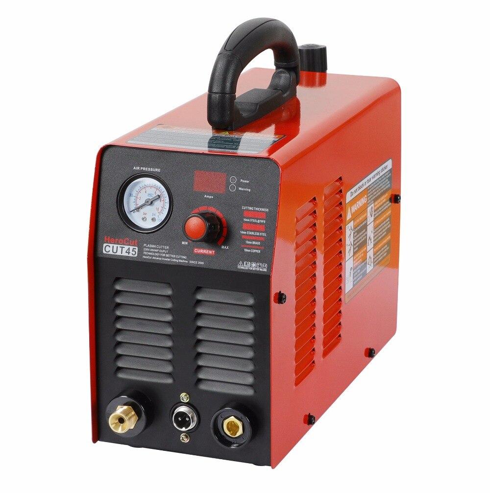 Cortador de Plasma IGBT máquina de corte por Plasma Cut45 220 V 10mm corte limpio ideal para cortar acero