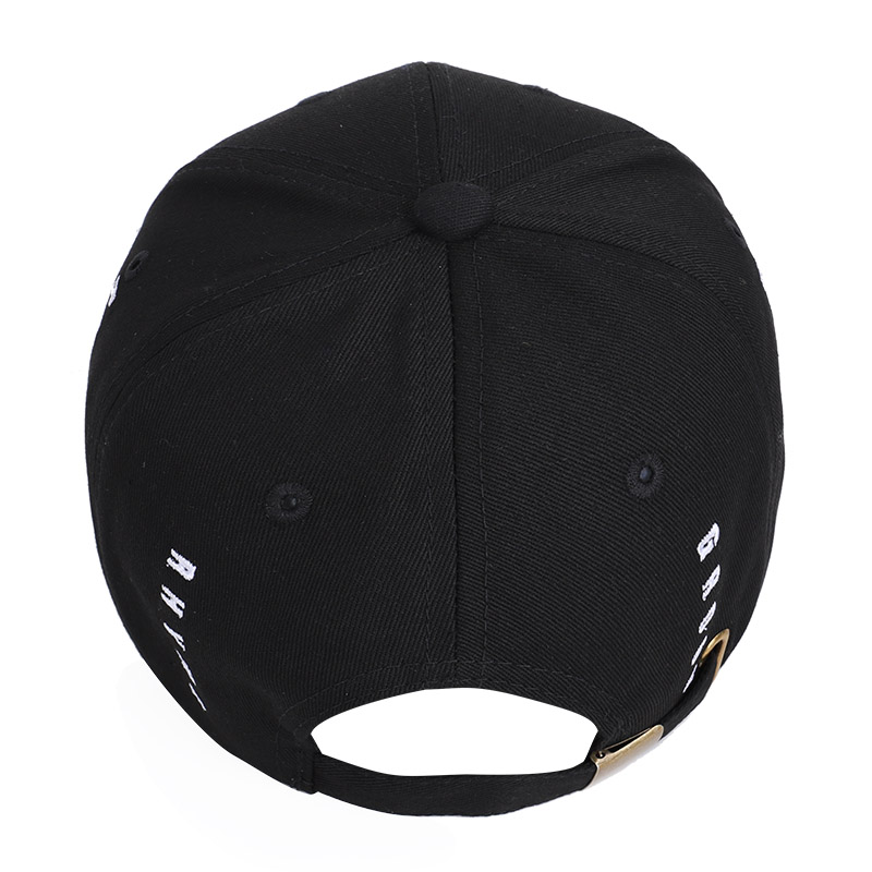 2019 High Quality Letter Embroidered Baseball cap Simple Casual Hat Summer Spring Man Woman Trend Black Adjustable Snapback Bone in Men 39 s Baseball Caps from Apparel Accessories