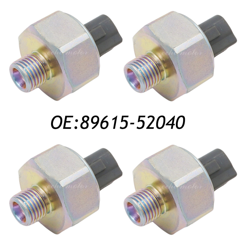 New 4pcs High Performance Knock Sensor For Toyota Echo Prius Scion Xa Xb 89615 52040 8961552040 In Detonation From Automobiles Motorcycles On