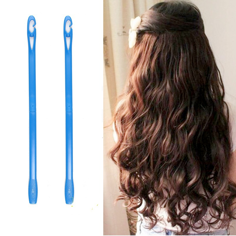 18 40pcs Plastic Hair Roller Soft Hair Curler Rollers Spiral DIY Hair Curlers For Curling Hair
