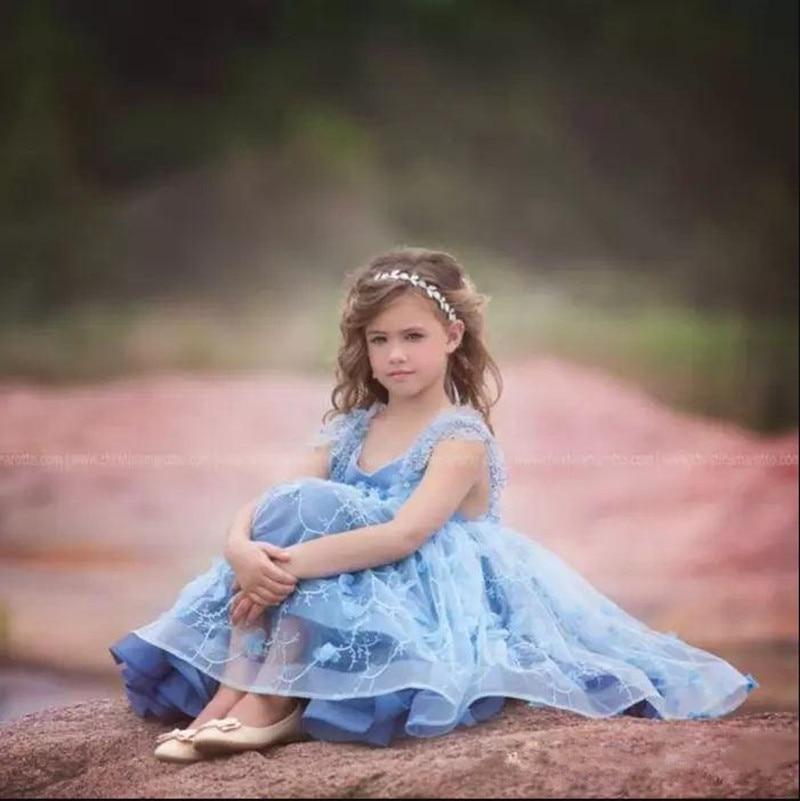 Cheio para as Meninas do Bebê Elegante Delicado