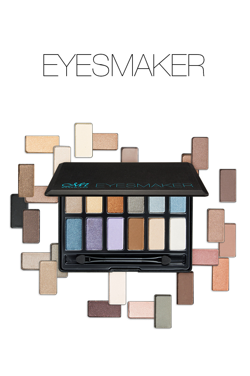Good Pigmentation 12 Color Eye shadow Palette Glow Kit abh Makeup EyeShadow Palette