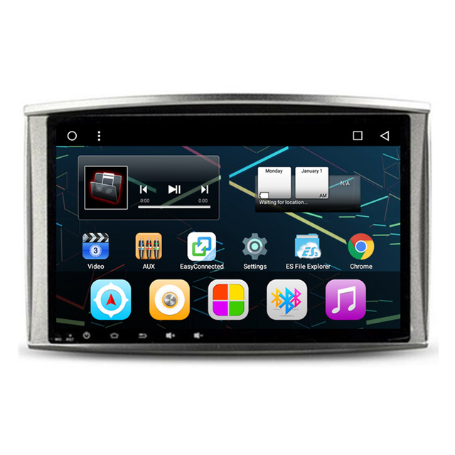 "10,2 ""Android Car Radio DVD GPS navegación Multimedia Central para Lexus LX470 LX 470 Toyota Land Cruiser 100 LC100"