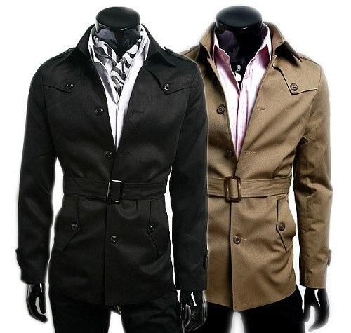 Mens Jacket With Belt - JacketIn