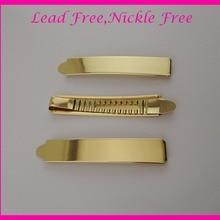 10 шт. 1,3 см* 7,2 см золотые металлические шпильки, не содержит свинец и никель, простые металлические заколки для волос, свадебные зажимы для волос для свадьбы