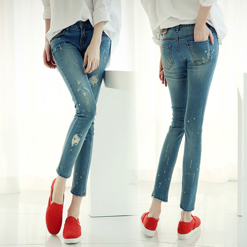 New arrival Juniors Light Wash Denim Low Rise Skinny Fit Woman Jeans Leggings 2016 Spring Ripped Jeans For Women Boyfriend Jeans inc international concepts petite new diva wash skinny leg jeans 6p $69 5