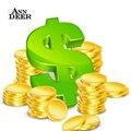 Pagamento adicional em sua ordem, taxa de transporte e taxa de custom made