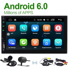 Wireless Camera EinCar Android 6.0 Quad Core Double Din Car Stereo In Dash GPS Navigation Head Unit Bluetooth 4.0 /WIFI /4G/FM