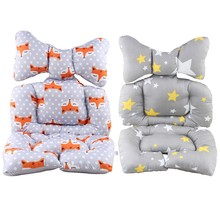 Infant Car Seat Insert,Cotton Baby Stroller Liner Head and Body Support Pillow, Infant Seat Pad Carseat Neck Support Cushion