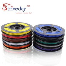 100m/roll 328ft UL 100724awg Stranded Wire Electrical line PCB Cable Line Airline Tinned Copper Copper Wire DIY недорого