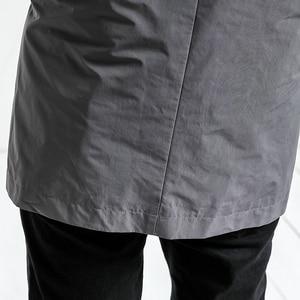 Image 5 - Simwood 2020 Lente Lange Jas Mannen Slim Fit Mode Bovenkleding Toevallige Hoge Kwaliteit Plus Size Jassen Merk Kleding JK017012