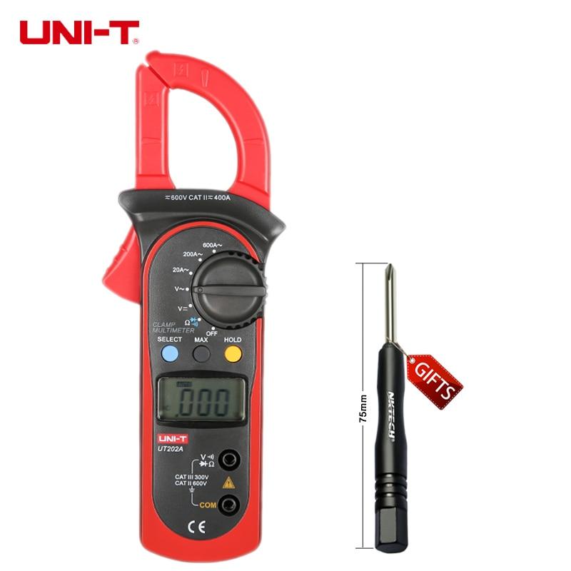 Uni T Multimeter Digital : Uni t ut a digital clamp multimeter ac dc v aca