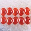 Frete grátis moda 13 x 18 MM Natural Red Carnelian CAB cabochão 10 Pcs K1604