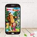 Говоря Маша и Медведь куклы Русского Языка Детская кукла Электронный Классический детский Игрушка телефон Samsung Learning & образование Нет Box