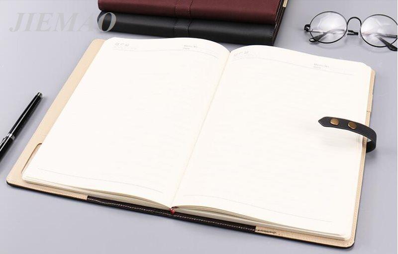 Business Notepad Meeting Record Belt Notebook JMB2502 100 Sheets - meeting note pad