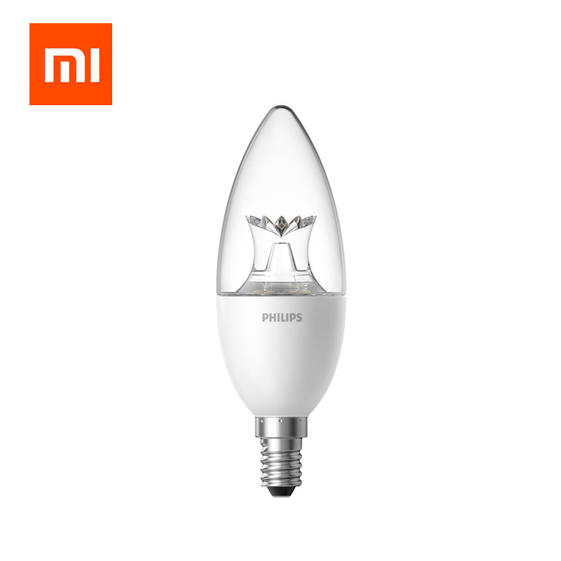 Original Xiaomi Smart LED Lamp Wifi Remote Control By Mi Home App E14 Bulb 3.5W 0.1A 220-240V 50/60Hz 250ml/200ml Smart Home Kit