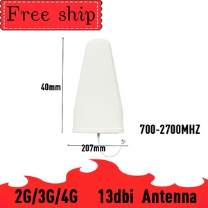 Image 3 - Outside gain 13dbi Log antenna CDMA UMTS GSM 700~2700 mhz  Gain 9dbi For Cell Phone Booster Repeater Panel Antenna With 2m Cable