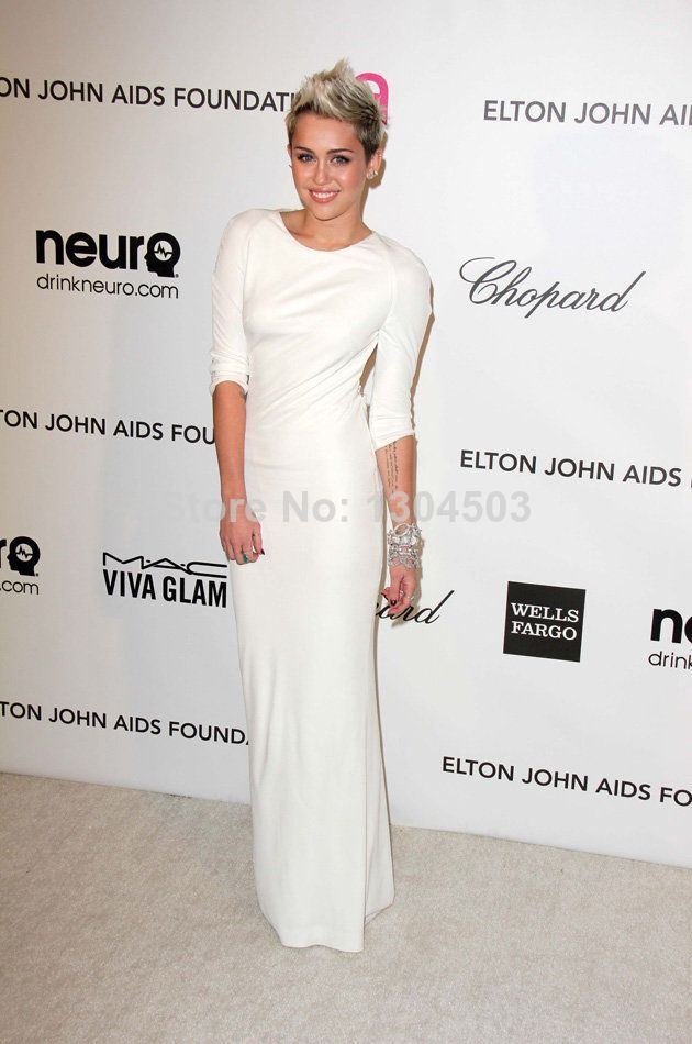 2014-Sexy-White-and-Mint-Green-Half-Sleeve-miley-cyrus-Sheath-Floor-Length- Dresses-Red-carpet.jpg
