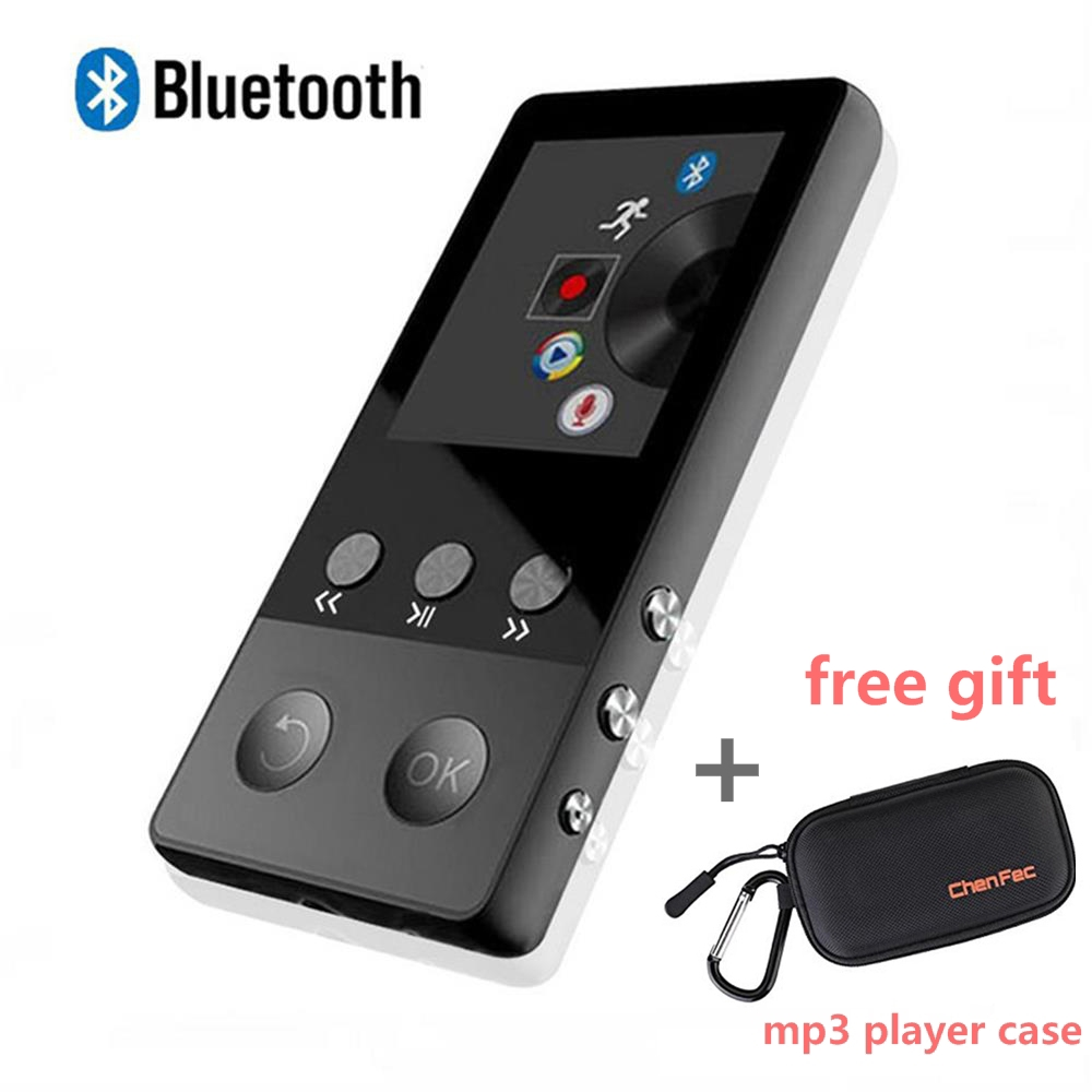 Sport Bluetooth MP3 Music Player 8GB Portable Audio Video Player with FM Radio Voice Recorder free