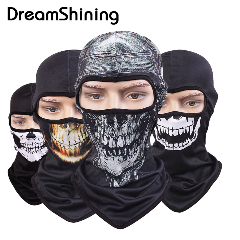 2017 Hot Skull Mask Skeleton Balaclava Cap Bicycle Cycling Fishing Motorcycle Masks Ski Halloween Full Face Mask шкатулка для рукоделия rto сирень с вкладышем 34 х 26 х 17 см