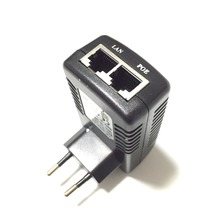 12V/1A PoE Injector Power Over Ethernet Adapter Wall Plug