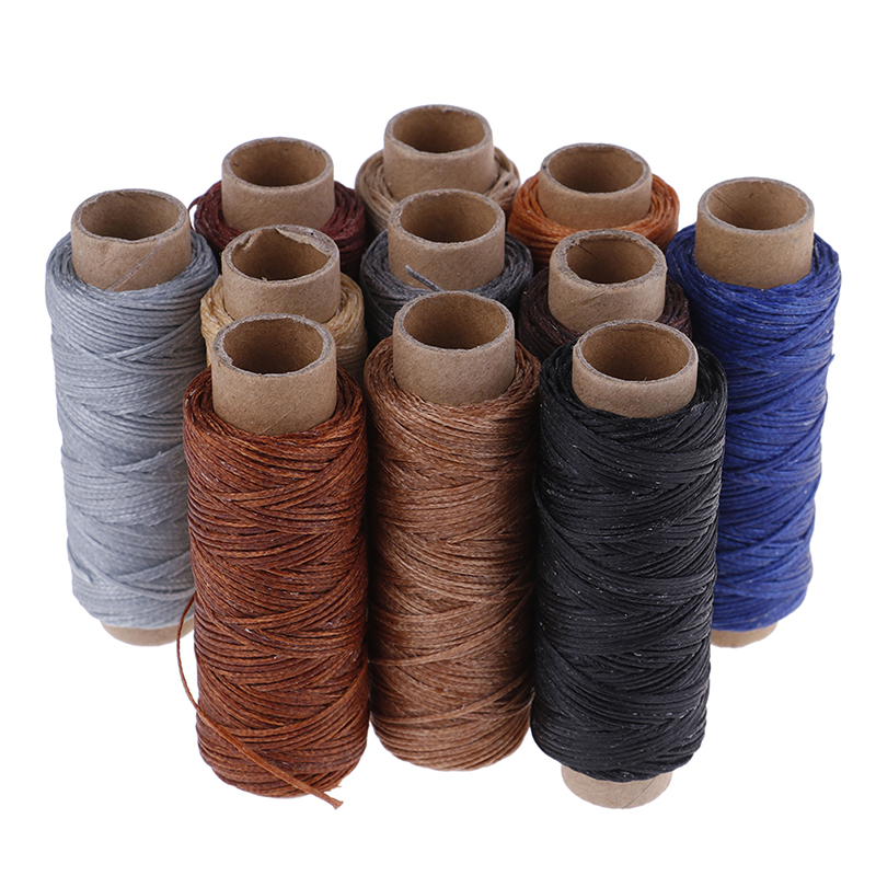 New High Quality 1 X Dark Brown 50m Sewing Cotton Thread For By Hand Or Machine