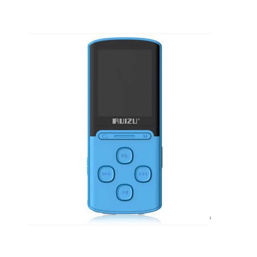 Новинка 2017 года оригинальный ruizu X11 MP3 плеера 1.8 дюймов 8 г высокое качество звука без потерь Регистраторы fm Радио спортивные 64 ГБ карта Micro SD