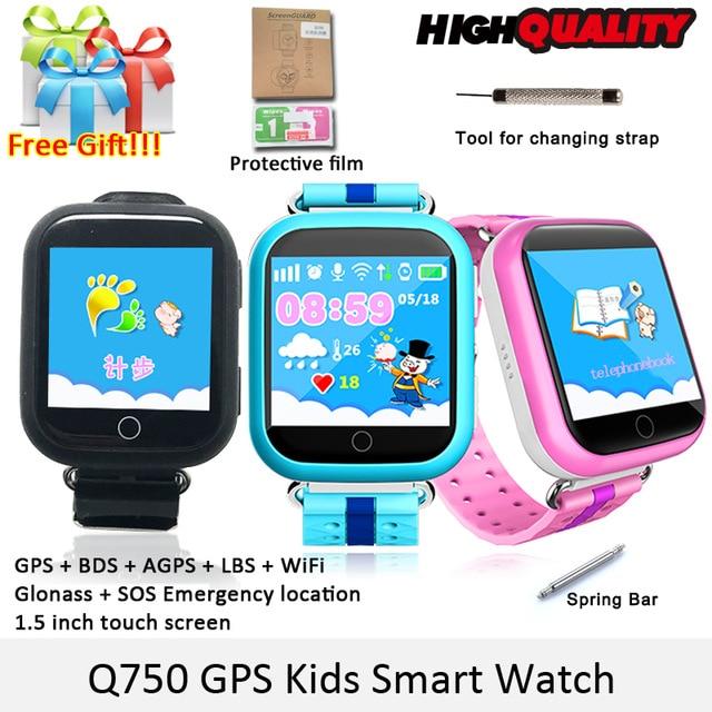 SMARCENT GW200S GPS smart watch Q100 font b baby b font watch with Wifi GPS SOS