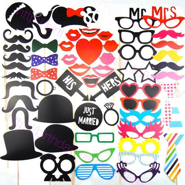 mscaras del partido photo booth atrezzo unids divertida boda photo booth prop decoracin de la