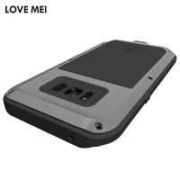 For Samsung Galaxy S8 S8 Plus Armor Case LOVE MEI Powerful Metal Aluminum Case For Samsung