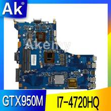 AK ROG GL552JX carte mère d'ordinateur portable pour For Asus GL552JX GL552J GL552 GL552JK ZX50J Test carte mère d'origine I7-4720HQ GTX950M/4g(China)