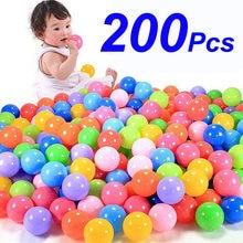 100/150/200 pces esporte ao ar livre bola colorida piscina de água macia oceano onda bola bebê crianças brinquedos engraçados eco-friendly stress bola de ar
