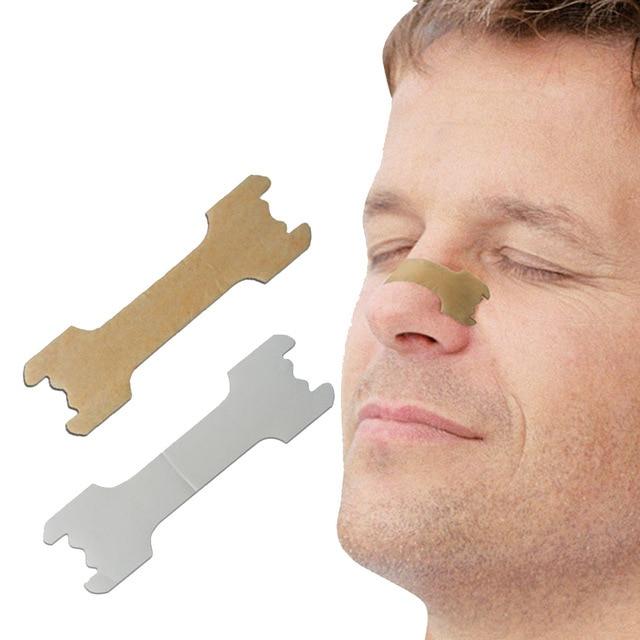 50 piezas respirar mejor tiras nasales forma correcta para dejar de roncar tiras Anti ronquidos más fácil respirar mejor cuidado de la salud
