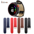 2017 Genuine Leather Watch Band Wrist Strap For Garmin Forerunner 235/630/230 High Quality Watchband With Different 4 Colors 2