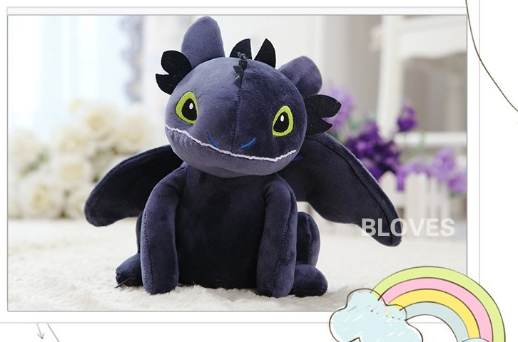 How to Train Your Dragon 3D, Toothless, Night Fury, Toy, Doll, Great Gift for Kids Boy Girl мини фигурка dragons toothless 66562 20064923