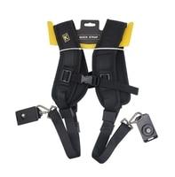 High Quality Double Shoulder Strap 2 Digital SLR Camera Dslr Photography Accessories Camera Strap