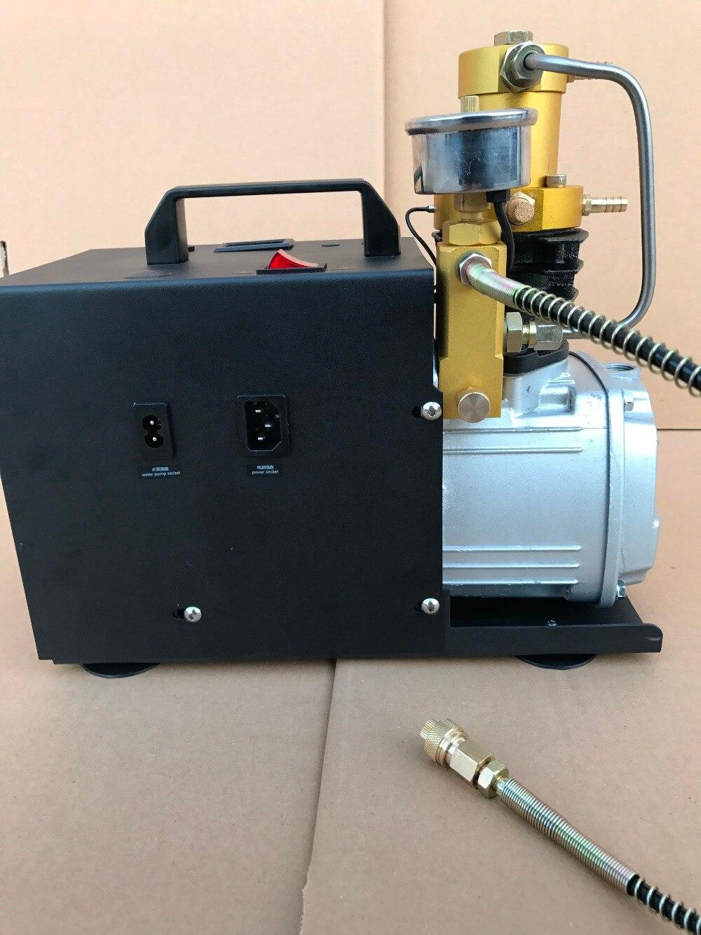 4500 фунтов/кв. дюйм pcp Электрический компрессор Регулируемый упор для Пейнтбол воздуха пистолет 300Bar 220V 110V