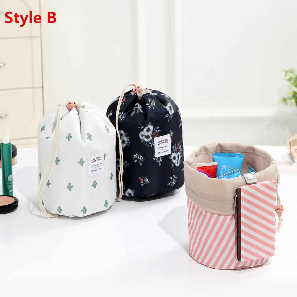 0e6018504b85 Women Travel Magic Pouch Drawstring Cosmetic Bag Organizer Lazy Flamingo  Make up Cases Beauty Toiletry Kit Tools Wash Storage