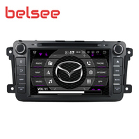 Belsee for Mazda CX 9 CX9 Android 9.0 Car Stereo Radio 1280x720 8 Core 4GB 2 Din GPS Head Unit Autoradio Multimedia DVD Player