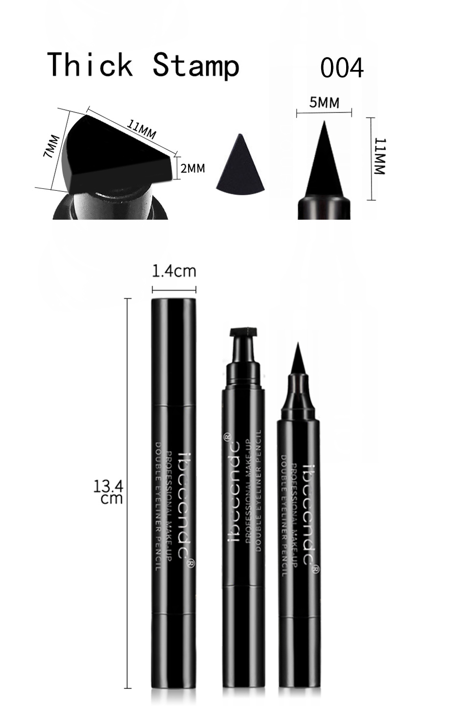 IBCCCNDC Liquid Pencil Black Eye Liner 16