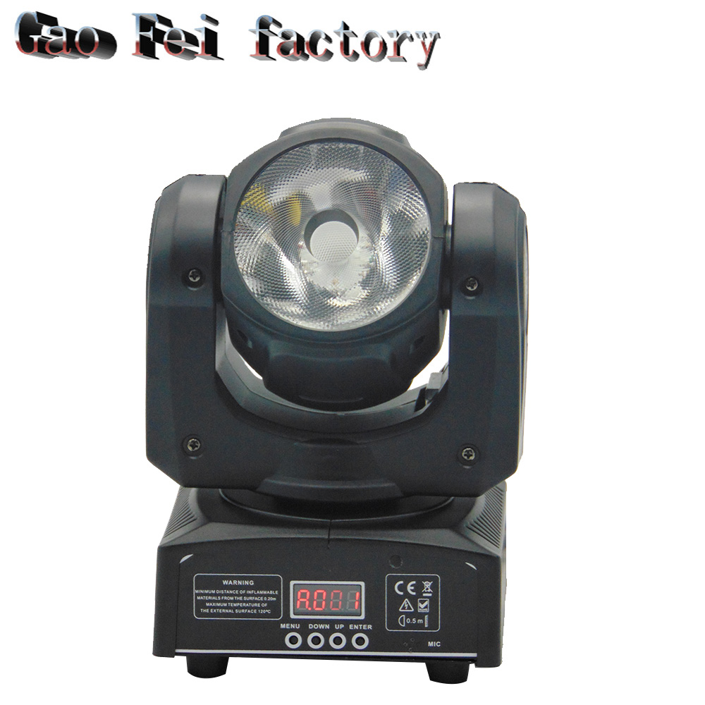 60W Colorful 60W Moving Head 4in1 rgbw Light DJ stage light