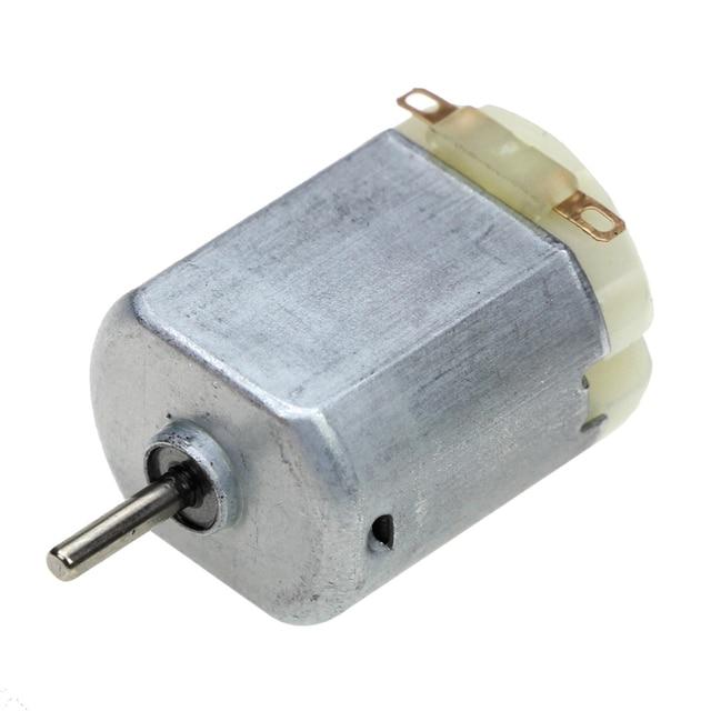 3V 0.2A 12000RPM R130 Mini Micro DC Motor für DIY Spielzeug Hobbies Smart Auto
