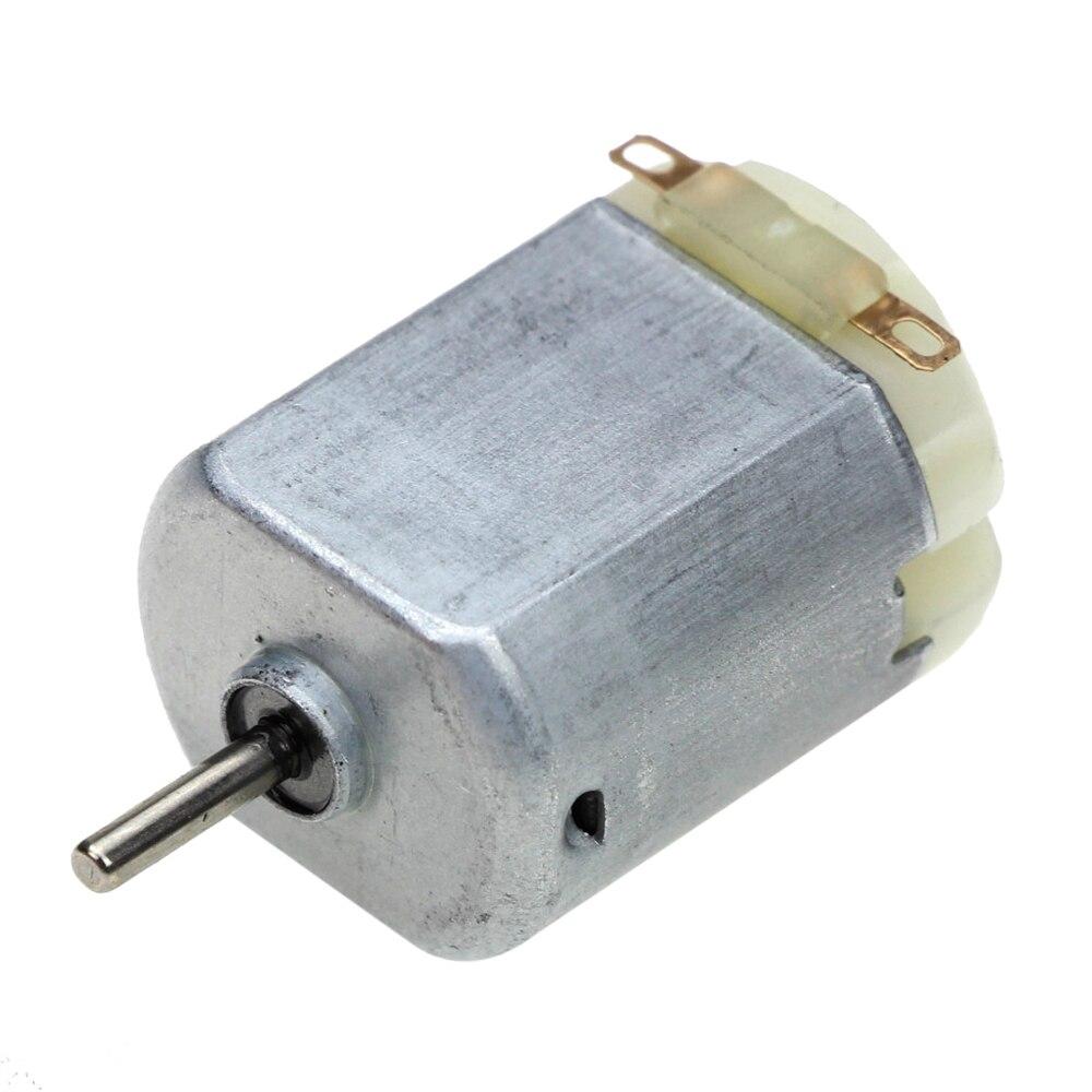 3V 0.2A 12000RPM R130 Mini Micro DC Motor para DIY juguetes aficiones coche inteligente