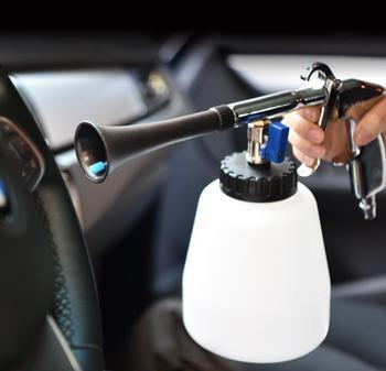 Car interior deep high pressure cleaning gun tornado car seat ceiling gap high pressure cleaning gun car cleaning tool